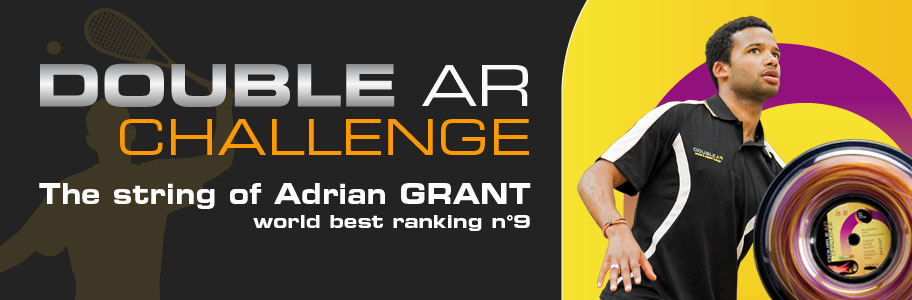 The Adrian Grant string - Best world ranking No. 9!